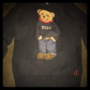 Ralph Lauren Polo Bear sweater bear wearing polo